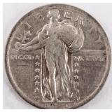 Coin 1920 Standing Liberty Quarter Extra Fine+