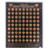 Coin Lincoln Cent Collection 1909-1937