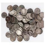 Coin 100 Old Buffalo Nickels