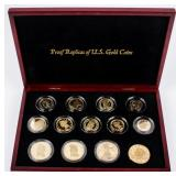 Coin 9 Troy Ounces .999 Silver U.S. Replica Gold