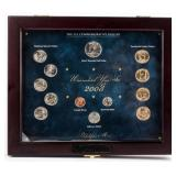 Coin 2008 Uncirculated Year Set in Wood Box