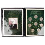 Coin Eisenhower Dollars Set  in Binder