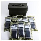 Lot of Magpul  Pmags and Ammo Can