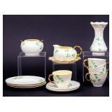 Lot of Fifteen Vintage Belleek Fine China Pieces