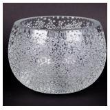 Cut Art Crystal Centerpiece Bowl