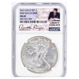Coin 2017  American Silver Eagle NGC MS69