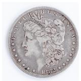 Coin 1882-O/S Morgan Silver Dollar in Fine