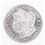 Coin 1890 Morgan Silver Dollar BU DMPLS