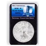 Coin 2016  American Silver Eagle NCG MS70