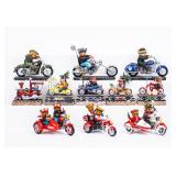 Lot of Faithful Fuzzie Motorcycle Collections