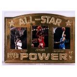 Upper Deck 22kt Gold 1997 All Star Power NBA Card