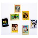 Lot of 7 Miscellaneous Sports Cards NHL NFL MLB