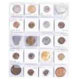 Coin 60 Exciting Tokens & Medals