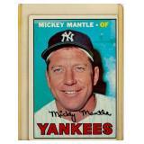 Vintage Baseball Card Topps 150 1967 Mickey Mantle