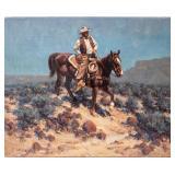 Art Original Oil Quiet Ride