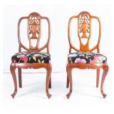 Lot of 2 Vintage George Zee & Co Chairs