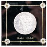 Coin 1878 8TF  Morgan Silver Dollar Gem BU