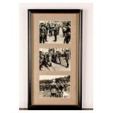 Framed Photograph of German Soldiers Early 1900s