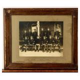 Framed Photograph Fort D.A. Russell WWI