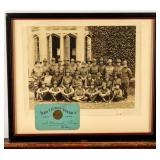 Framed Photograph First Princeton Aviation Group