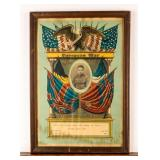 Framed Certificate In Memory of Andrew Richo WWI