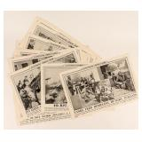 Lot of Illustrated Current News WWII