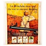 Advertisement Winchester Ammunition Display Sign