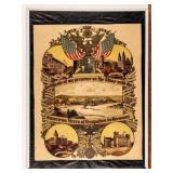 Framed Certificate Recognition Occupation Germany