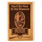 Book How a Boy made the First Remington
