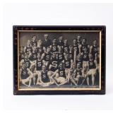 Framed Photograph Athletic Team Early 1900s