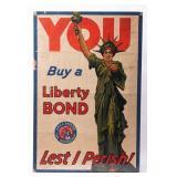 Poster Statue of Liberty / Liberty Bonds WWI