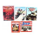 Lot of US Military Uniforms and Equipment Books