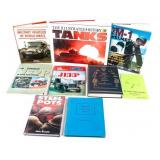 Lot of World War II Equipment and Vehicle Books