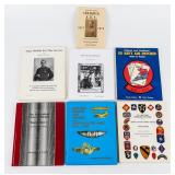 Lot of Award / Medals / Patches Military Books