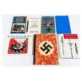 Lot of Nazi Germany Uniform and Equipment Books
