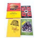 Lot of Nazi Germany Uniform Headgear Books Signed
