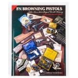 Book FN Browning Pistols Vanderlinden Signed