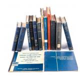 Large Lot of Navy Books