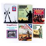 Lot of US Military Airborne Books WWII