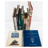 Large Lot of World War II / Medal of Honor Books