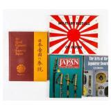 Lot of Japanese Sword / Pistol Books Signed