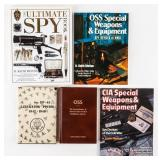 Lot of US Spy Books WWII