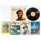 Lot of Green Beret Magazines / Record