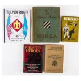 Lot of Korean War Books