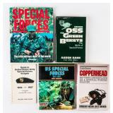 Lot fo Green Beret / Special Forces Books