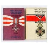 Set Orders Decorations Medals Badges Third Reich