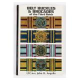 Book Belt Buckles and Brocades of the Third Reich
