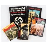 Lot of Nazi Germany Rommel and History Books