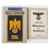 Lot of Nazi Germany Documents Books