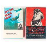 2 Signed WWII Military Books Boyington Kawato
